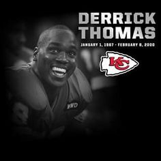 years ago today we lost one of the best to ever wear a Chiefs uniform.P Derrick Thomas Kansas City Chiefs Football, Football Team, Chiefs Wallpaper, Love My Boys, My Love, Derrick Thomas, Travis Kelce, City Pride, Sports Personality