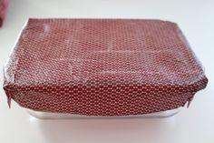 tissu imprégné de cire d'abeille pour remplacer film plastique et papier alu