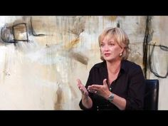 Amy Cannady Artist - YouTube discusses her process creating non-objective abstract paintings.