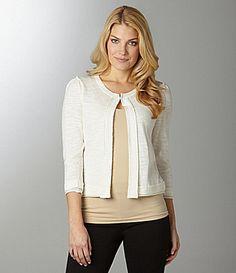 Nurture One Button Cardigan Sweater #Dillards