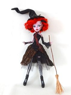 CUSTOM MONSTER HIGH from etsy apparently (I didn't make it. sorry. not sure who did)