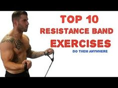 Full Body Resistance Band Workout - 20 Moves to Slim You Down & Tone You Up - YouTube