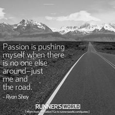A Passionate Runner