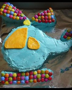 cake idea : colorful helicopter silhouette