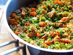 One Pot Pasta, Kung Pao Chicken, Crockpot, Dessert Recipes, Desserts, Pork, Healthy Recipes, Healthy Food, Ethnic Recipes