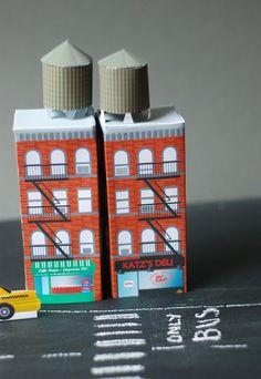 Hello June: DIY Kid : mon petit building NEW YORK