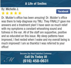 Dr. Mulder's office has been amazing! Dr. Mulder's office was there to help diagnose my...