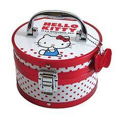 Hello Kitty Jewelry Box: Dot - White