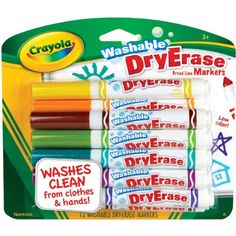 Crayola Washable Dry