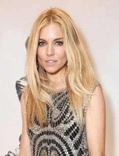 Pin for Later: Sienna Miller Is More of a Hairstyle Chameleon Than You Realise Golden Lady in 2014