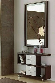 Ideas for the hallway Wardrobe Design Bedroom, Bedroom Furniture Design, Home Decor Furniture, Diy Home Decor, Bedroom Decor, Bedroom Dressing Table, Dressing Table Design, Cupboard Design, Interior Decorating