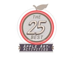 25 of the very best carefully curated apple art projects, apple crafts, and apple activities for kids Apple Activities, Activities For Kids, Apple Recipes For Kids, Apple Art Projects, Apple Crafts, American Girl, Imagination, Celebrations, Core