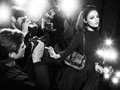 Mila Kunis stars as the face of Dior's fall 2012 Miss Dior campaign #fashion