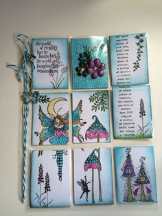 Pocket letter fairy themed