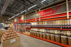 Grocery Restaurant Spaces Convenience Store Fixtures Designs and Renderings Supermarket Design, Retail Store Design, Retail Fixtures, Store Fixtures, Display Case, Grocery Store, Interior Architecture, Coffee Shop, Convenience Store