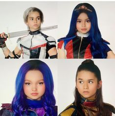 My babies ? Disney Descendants Dolls, Descendants Characters, Disney Channel Descendants, Descendants Costumes, Descendants Cast, Disney Channel Stars, Cameron Boyce, Funny Disney Jokes, Disney Memes