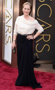Meryl Streep from Oscars 2014 : le tapis rouge | E! Online