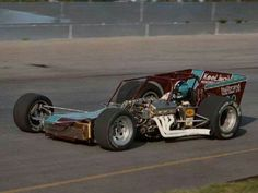 Jim Shampine in Clyde Booth Supermodified