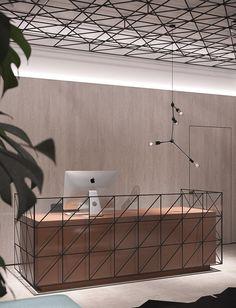 Office interior design designer: S.Gotvyansky, M. Temnikov