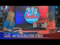 Nancy Silberkleit Co-CEO of Archie Comics.  Watch the video and see how Archie Comics co-CEO helps children to learn to read through comic books and also overcome social issues in her Rise Above! comic.