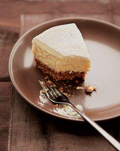 Una perfetta Manhattan cheesecake