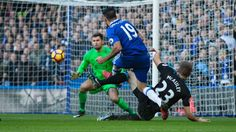 Chelsea edge out West Bromwich Albion to go top of the Premier League