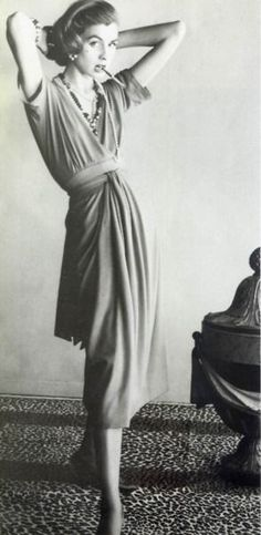 Suzy Parker for Chanel, 1954