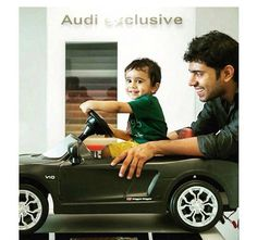 Nivin pauly with his son Daveed