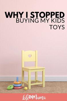 I stopped buying my