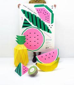 Giant Tropical Fruit DIY kit