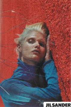 Malgosia Bela photographed by Mario Sorrenti, Jil Sander Spring 2000
