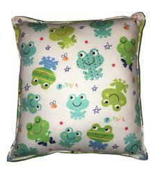 Rana almohada Linda franela suave almohada niño seguro 100%