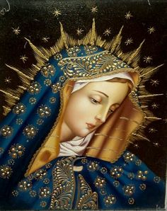 Our Lady of Sorrows Cusco school oil painting - Alcasami Religious Pictures, Religious Icons, Religious Art, Blessed Mother Mary, Blessed Virgin Mary, Sta Rita, Virgin Mary Art, Images Of Mary, Mother Mary Images