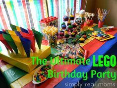 Kids Lego Party Ideas! | She's Crafty
