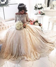 The extravagant Aysha wedding dress everyone is talking about...OMG,Cheaper to have custom-made than purchasing from salon.Ask your seamstress for fabric suggestions that fit your budget And Wedding theme..