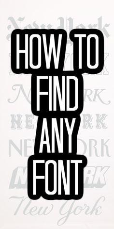 Inkscape Tutorials, Cricut Tutorials, Cricut Ideas, Polices Cricut, Font Finder, Do It Yourself Inspiration, Find Fonts, Cricut Craft Room, Cricut Fonts