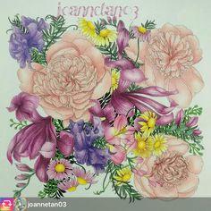 Beautiful @joannetan03  Want to appear in our group put on #arte_e_colorir  Usem #arte_e_colorir para aparecer aqui em nosso grupo. ➡️ @arte_e_colorir @desenhos_ofart