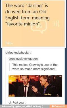 supernatural crowley humor