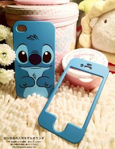 Blue cute stitch hard back plastic cover case for iphone 5 5 Iphone 5 Case, Cool Iphone Cases, Diy Phone Case, Cute Phone Cases, Buy Iphone, Phone Cover, Hakuna Ma Vodka, Portable Apple, Mobiles