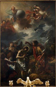 Petr Brandl, Křest Krista, 1715–1716