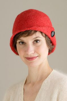 Felted Cloche by Shibui