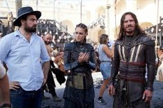 """Michael Fassbender behind the scenes of """"Assassin's   Creed"""""""
