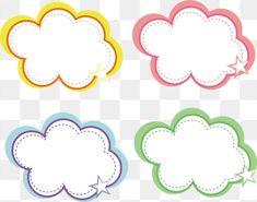 Cartoon Hand Drawn Color Bubble Speech Bubble Cloud Pattern Vector and PNG Cartoon Clouds, Cartoon Background, Background Banner, Background Patterns, Dialogue Bubble, Cloud Texture, Comic Bubble, Colorful Clouds, Cloud Vector