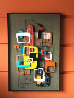 Mid century art and design by artist Bruce Yager
