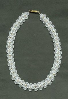 Necklace of beads. Pattern