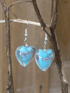 Blue Earrings Handmade Earrings Fashion by TwiggyPeasticks on Etsy