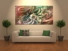 Abstract <strong>wall</strong> canvas art for modern home