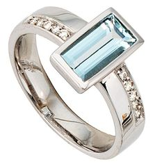 Dreambase Damen-Ring 1 Aquamarin 14 Karat (585) Weißgold 10 Diamant 0.10 ct. 56 (17.8) von Dreambase, http://www.amazon.de/dp/B00AEEHGZE/ref=cm_sw_r_pi_dp_7LT9qb1GD25YQ