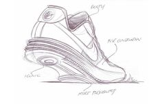 Nike Lunar Force 1 - 25 Must-See Design Sketches of Your Favorite Sneakers | Complex