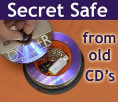Picture of Secret Safe from old CD's